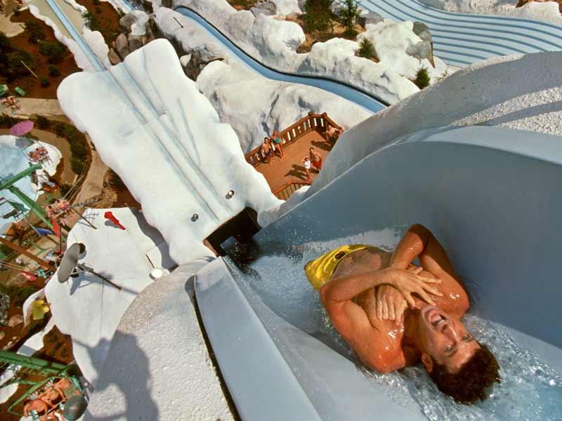 Blizzard Beach Slide Drop