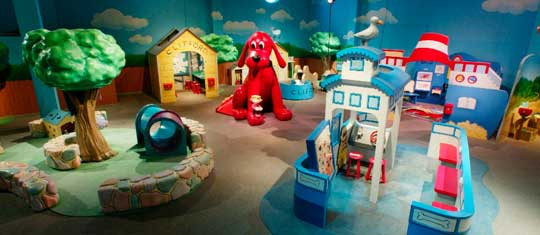 Orlando Science Center Clifford The Big Red Dog
