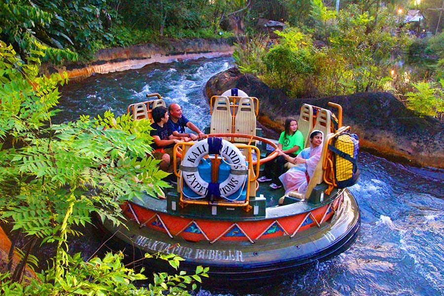 Disney's Animal Kingdom kali-river-ride-8319