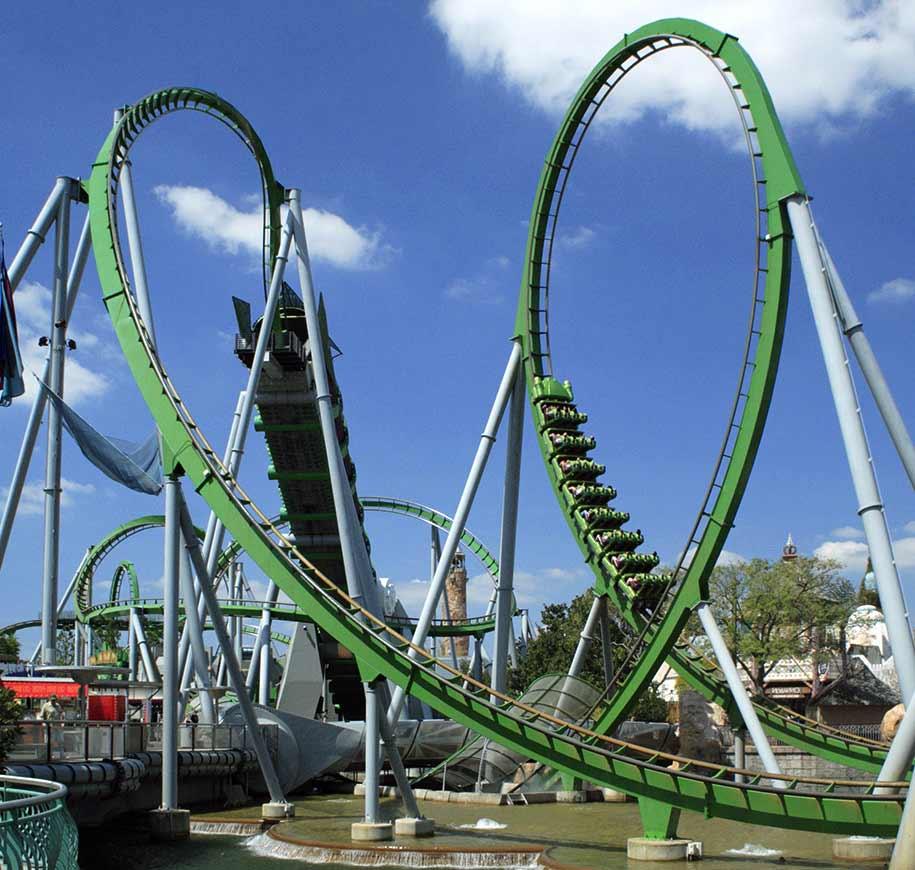 Universal IOA Hulk Rollercoaster