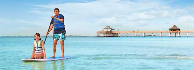 Fort Myers Sanibel paddleboard