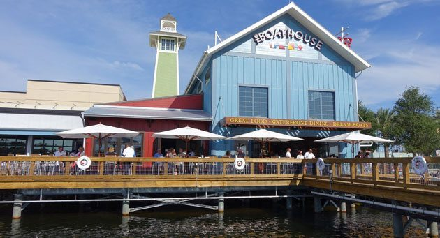 Disney Springs boathouse