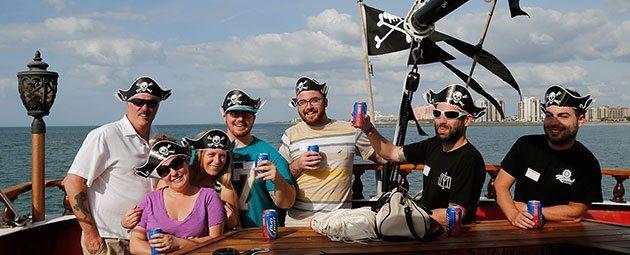 Captain Memo's Pirate Cruise Adults Fun