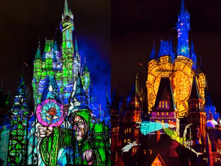 Disney new projection show