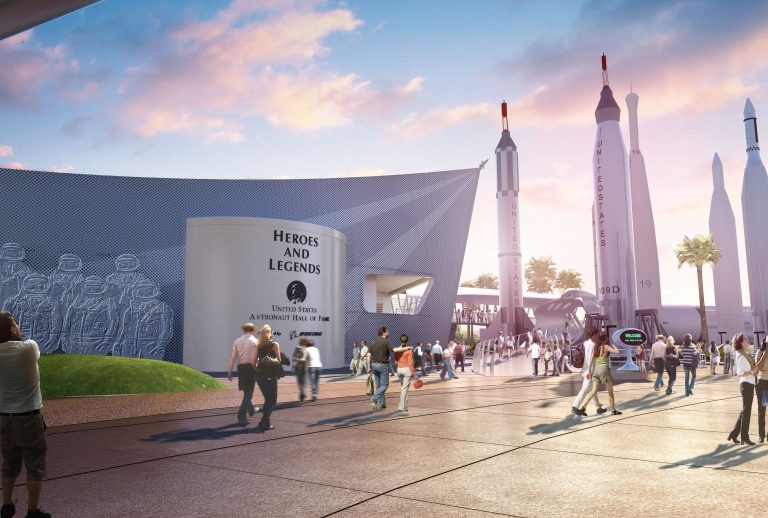 Heroes & Legends At Kennedy Space Center