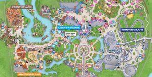 disneys magic kingdom map