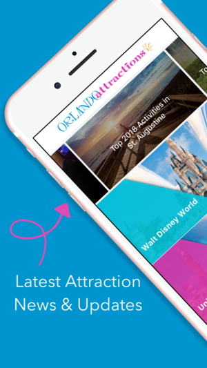 Orlando Attractions App 1