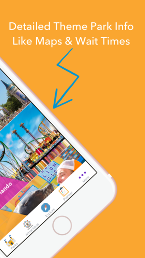 Orlando Attractions App 2
