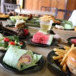 Discovery Cove food choices