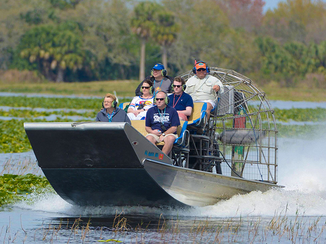 Swamp Tours Ruin Your Hair, But Make Your Day