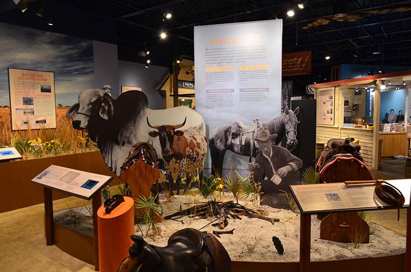 Pioneer Village Museum Display