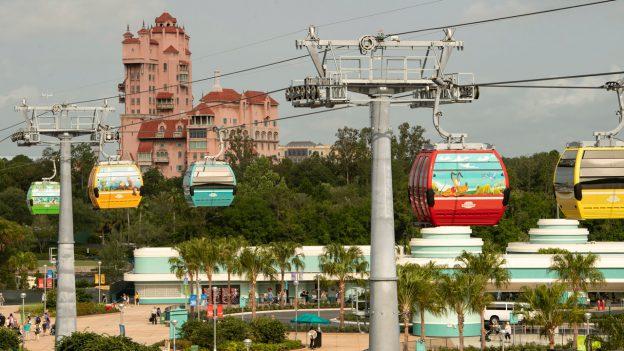 Disney Skyliner views