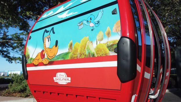 Disney Skyliner gongola