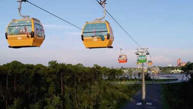 Disney Skyliner opening