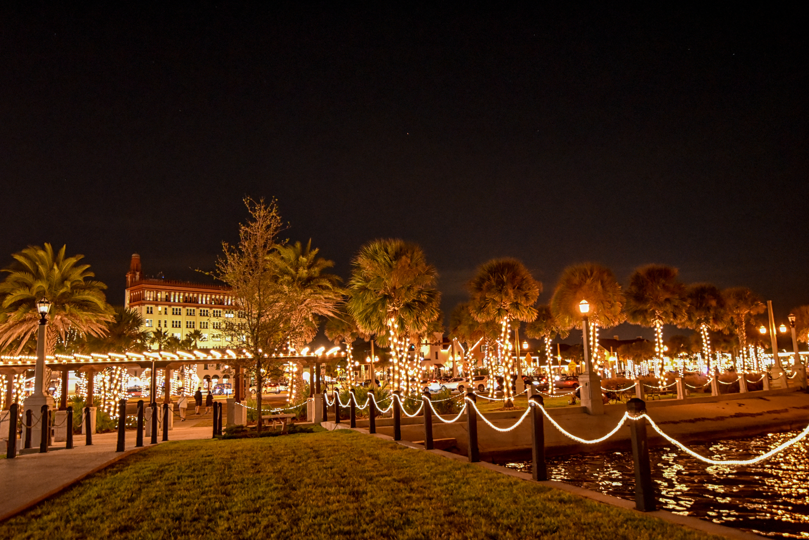 Nights of lights bayfront view