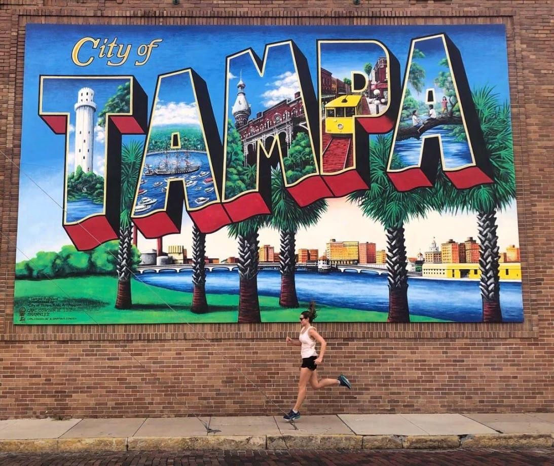 Tampa runner_mural