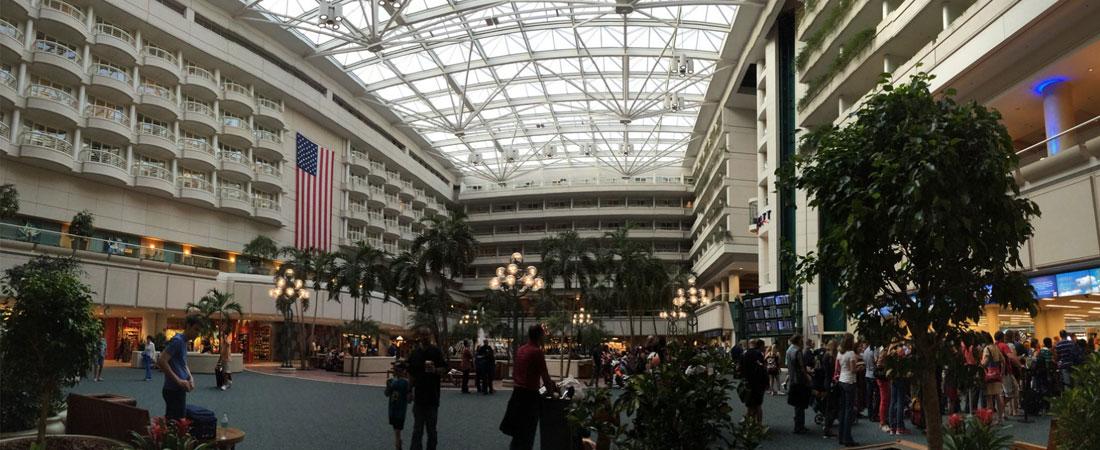 inside orlando international airport MCO