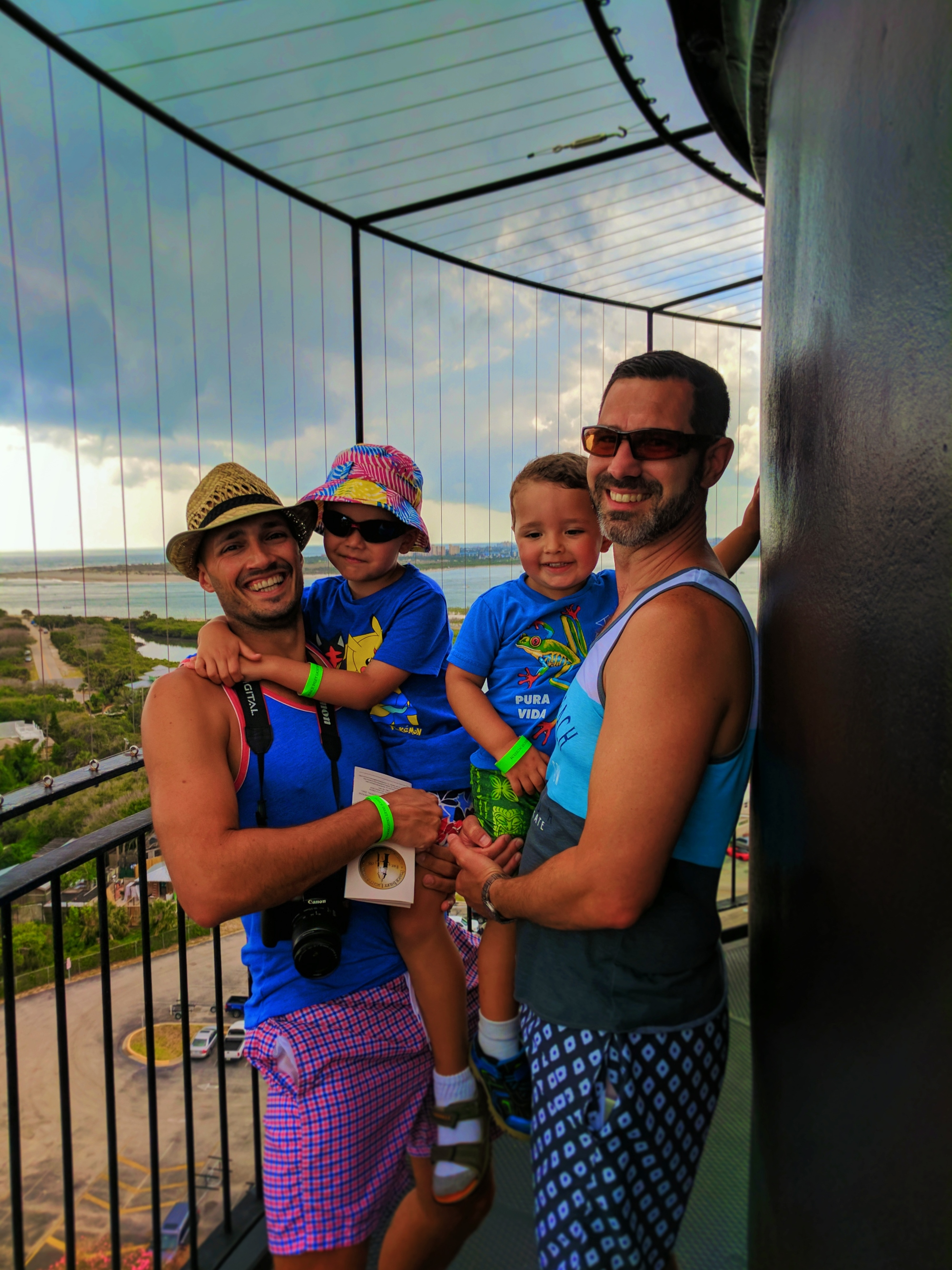 Family at Lighthouse