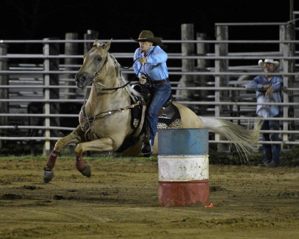 rodeo barrel racer 1