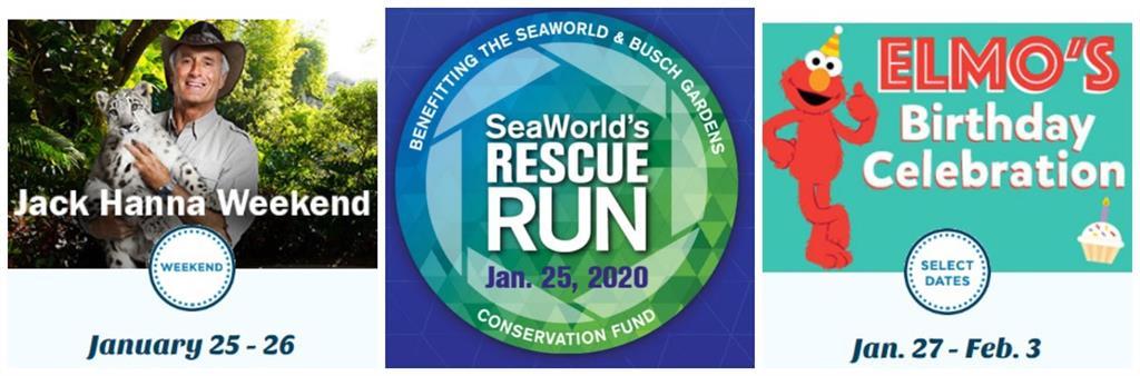 Seaworld January