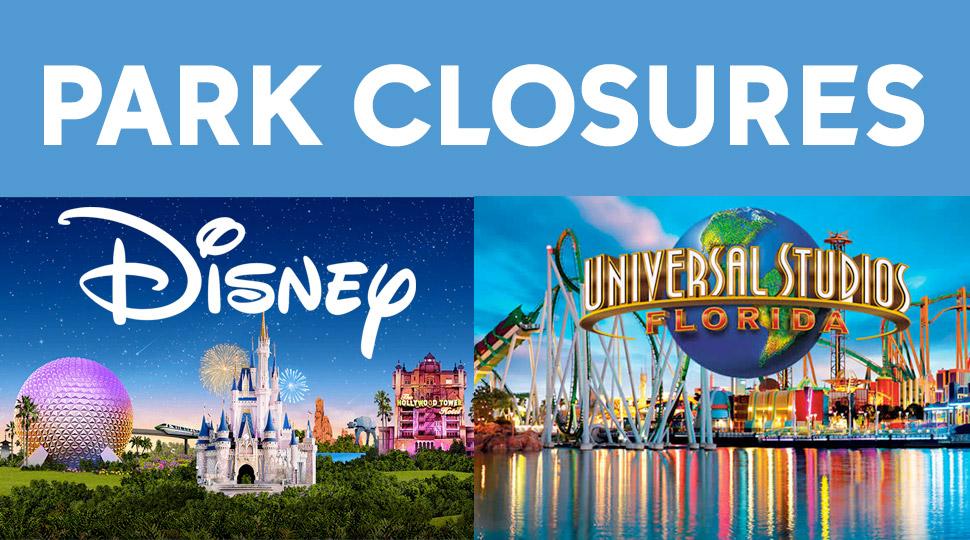 Orlando Park Closures