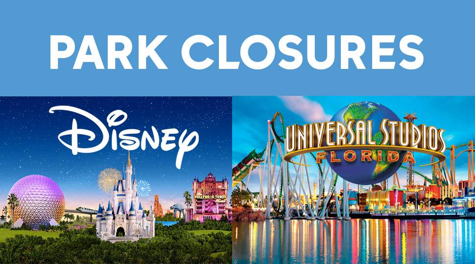 Orlando Park Closures Update