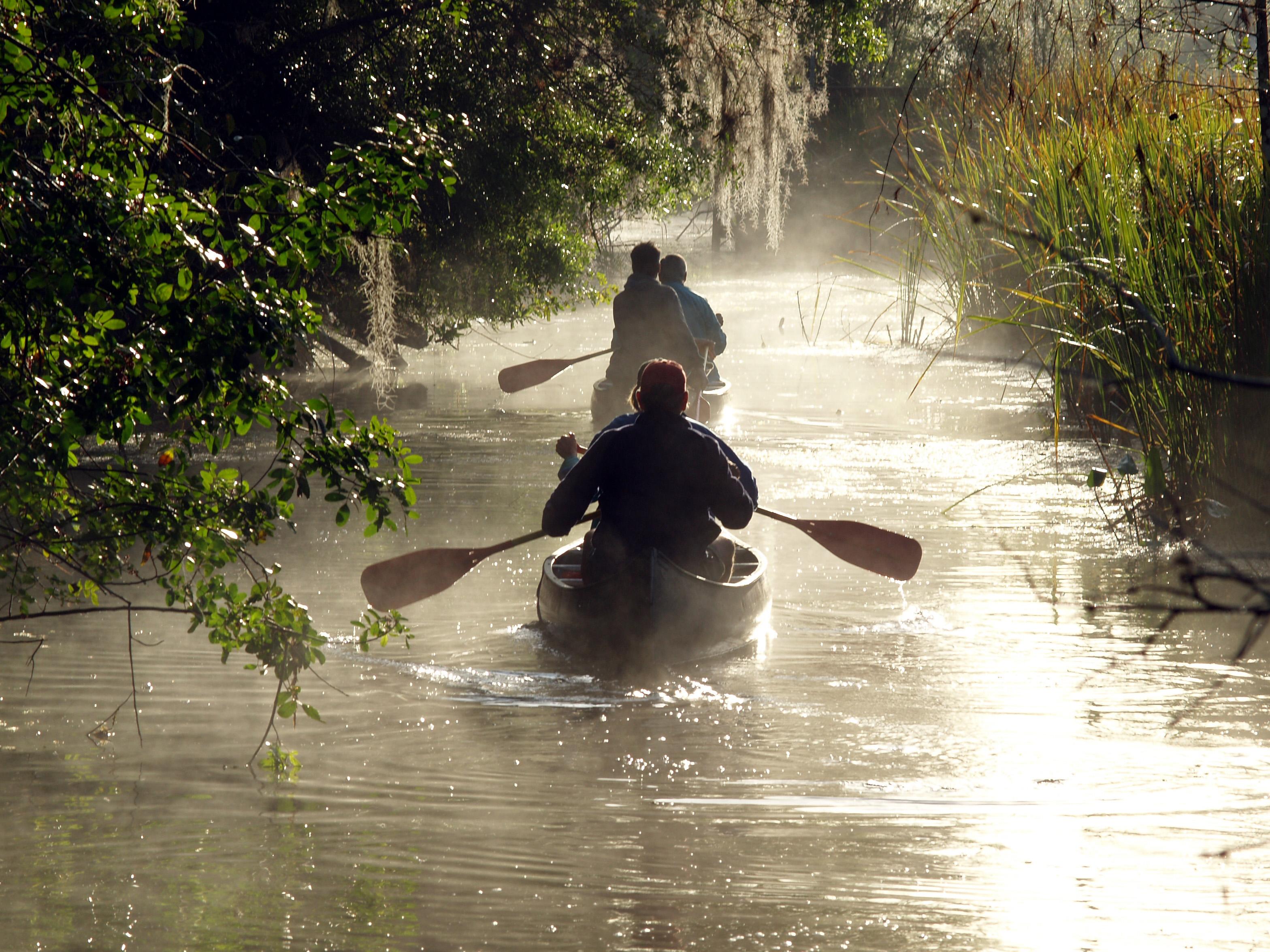 Canoeing Everglades