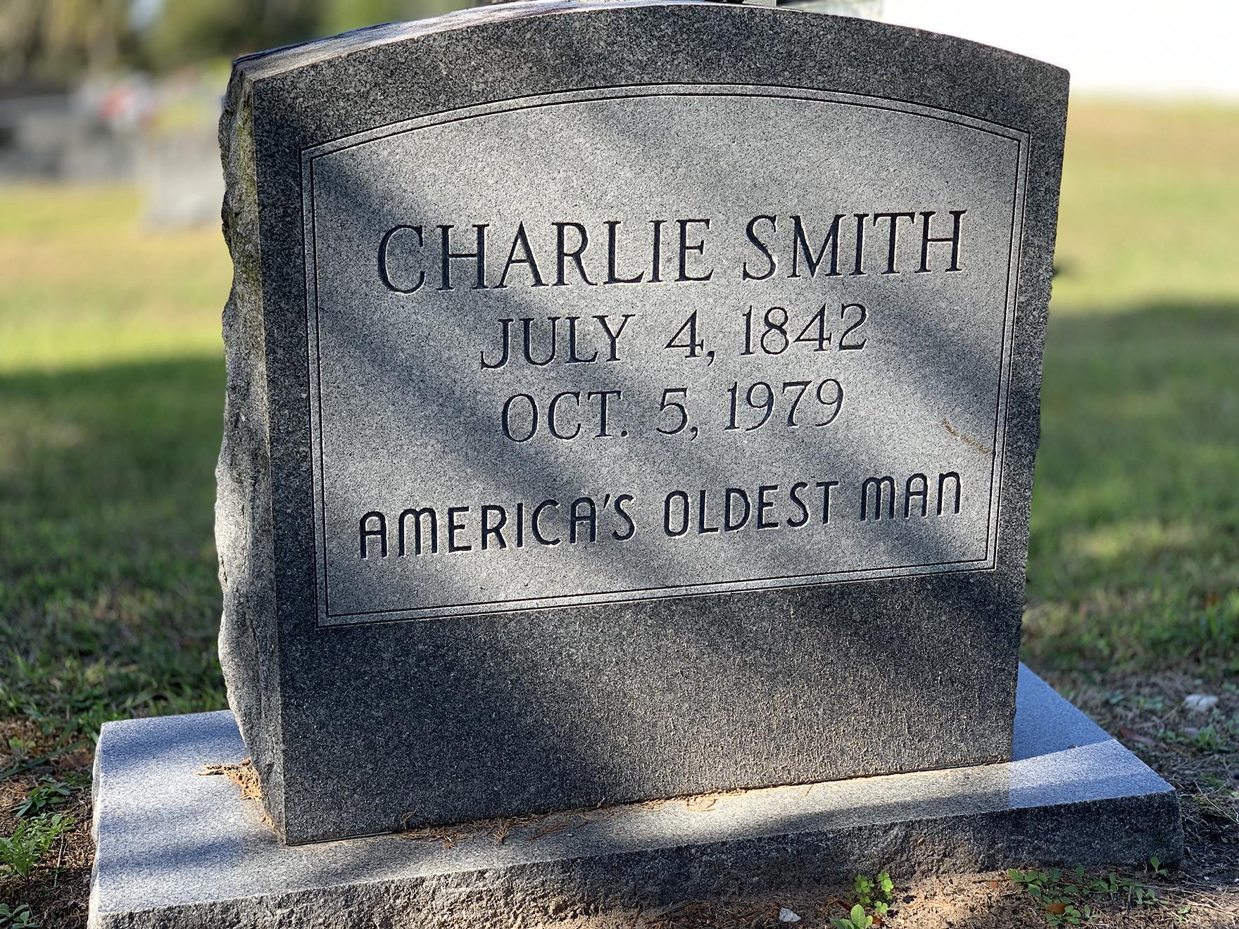 Oldest Man Grave