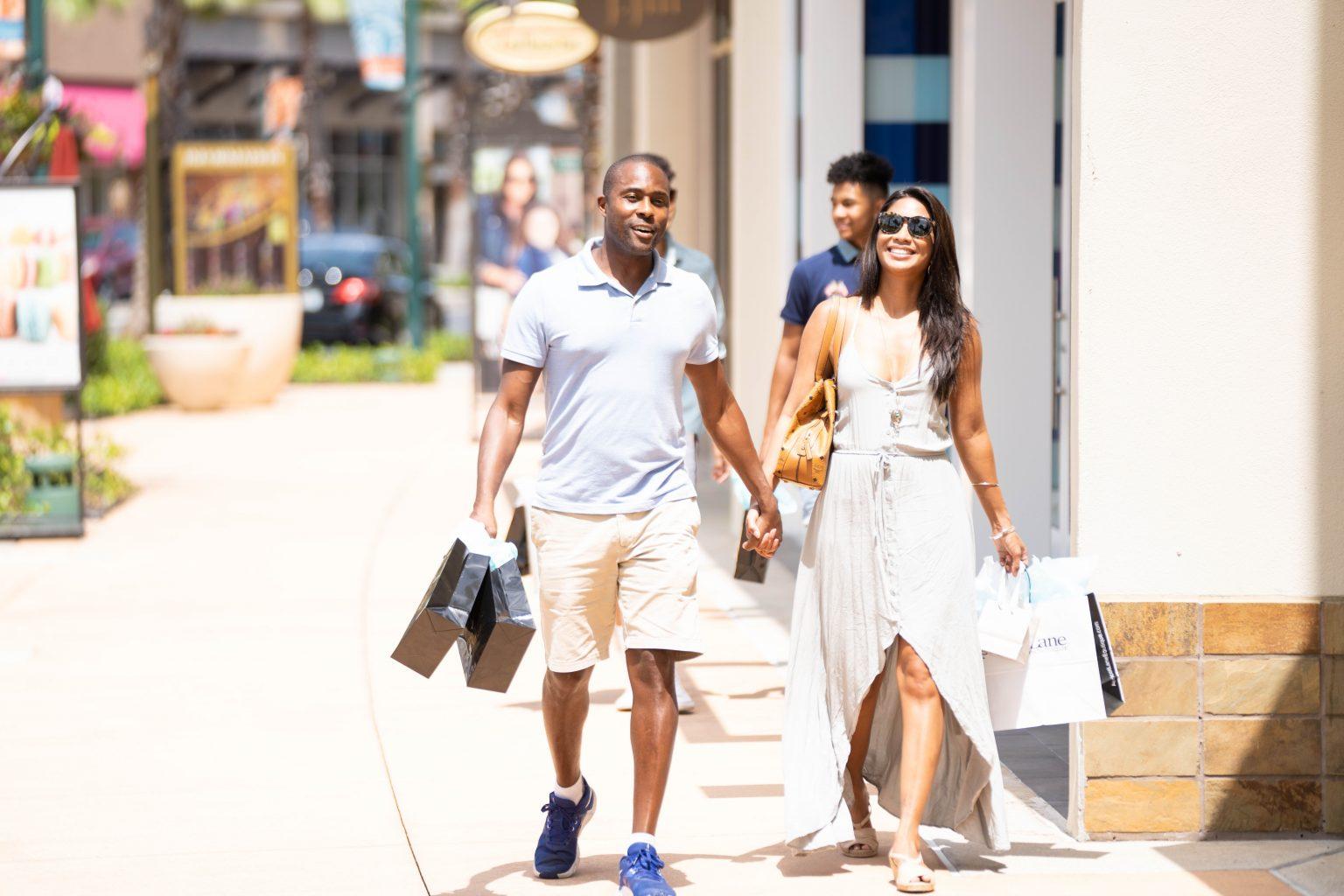 Outdoor Shopping