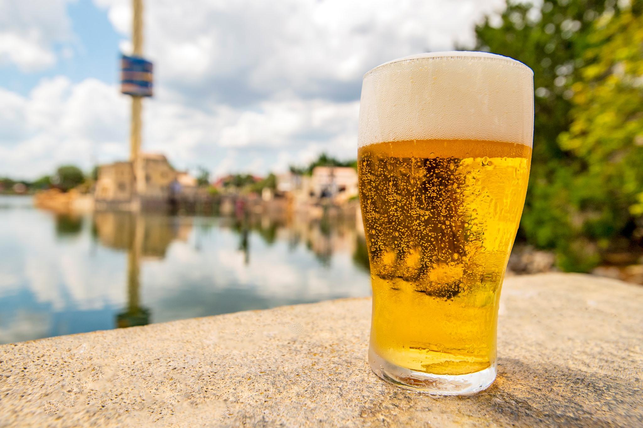 Seaworld free beer
