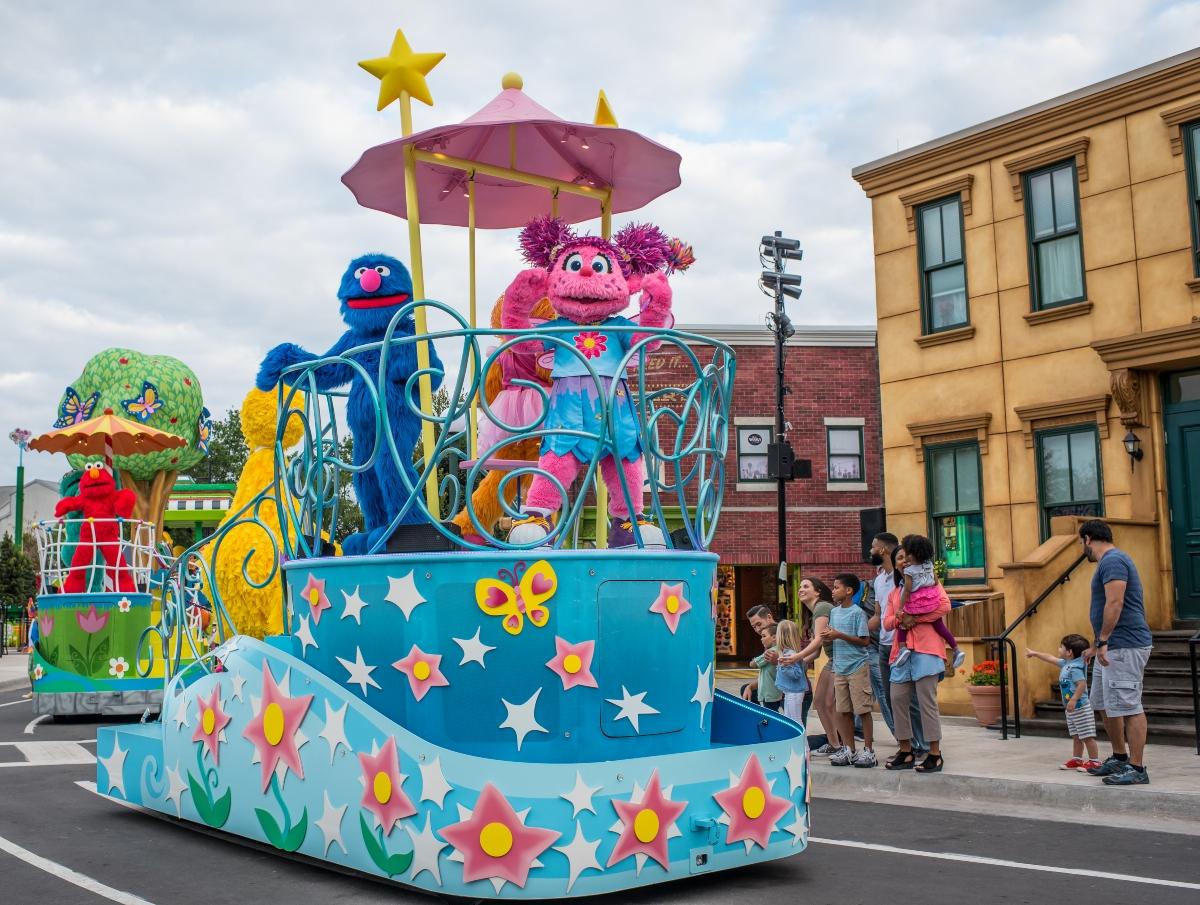 seaworld parade