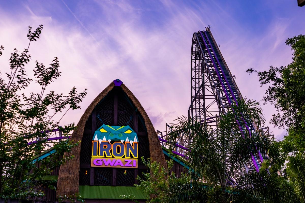 Iron Gwazi to Open March 2022 at Busch Gardens Tampa Bay