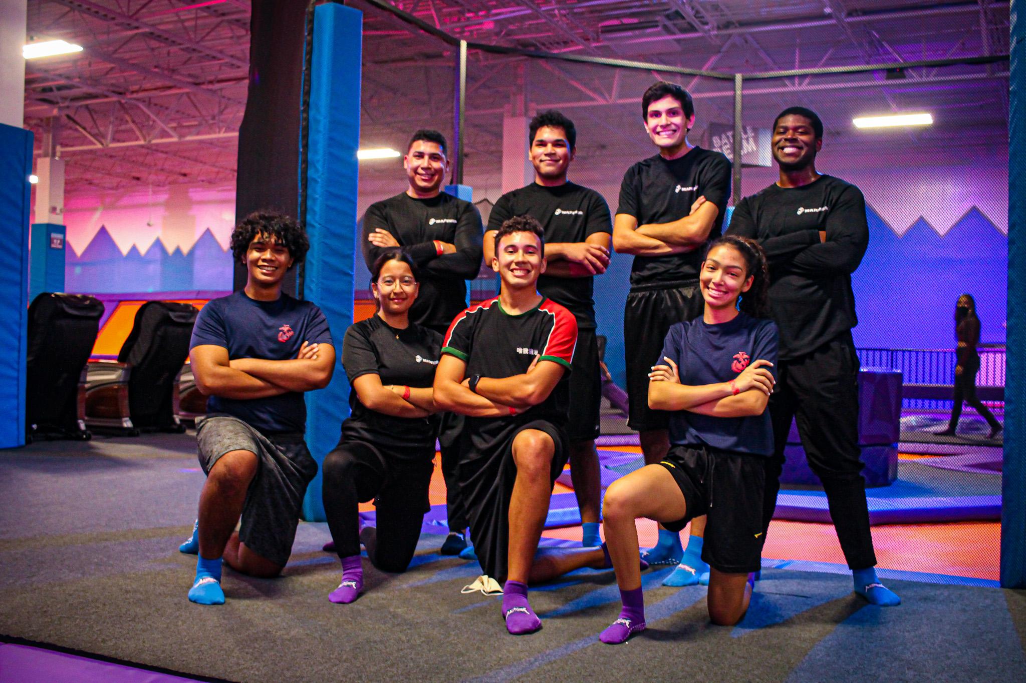 teambuilding at Altitude Trampoline