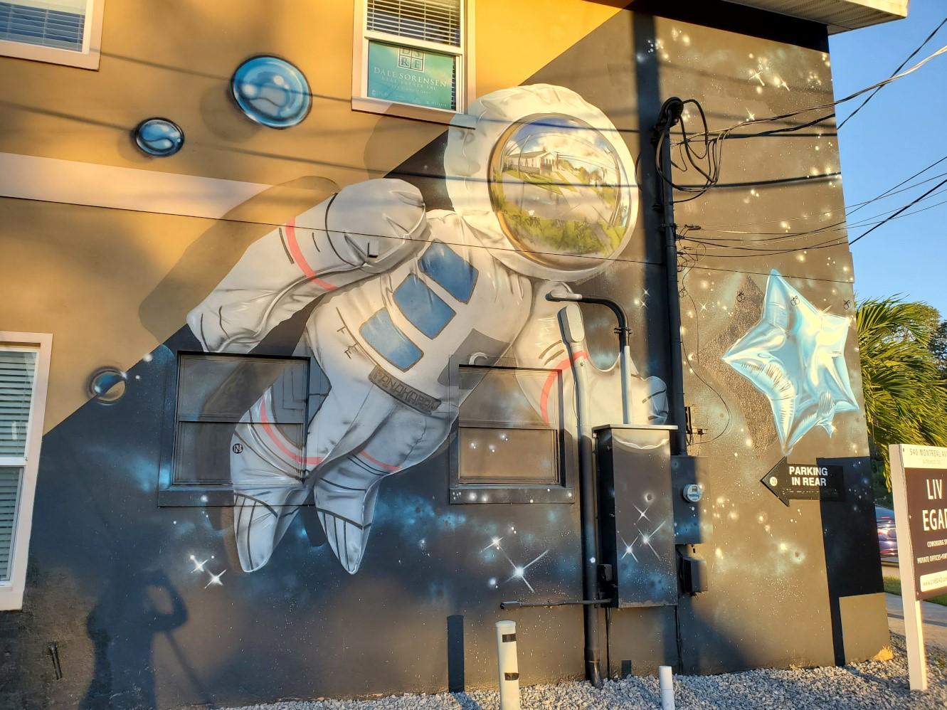 Eau Gallie Murals
