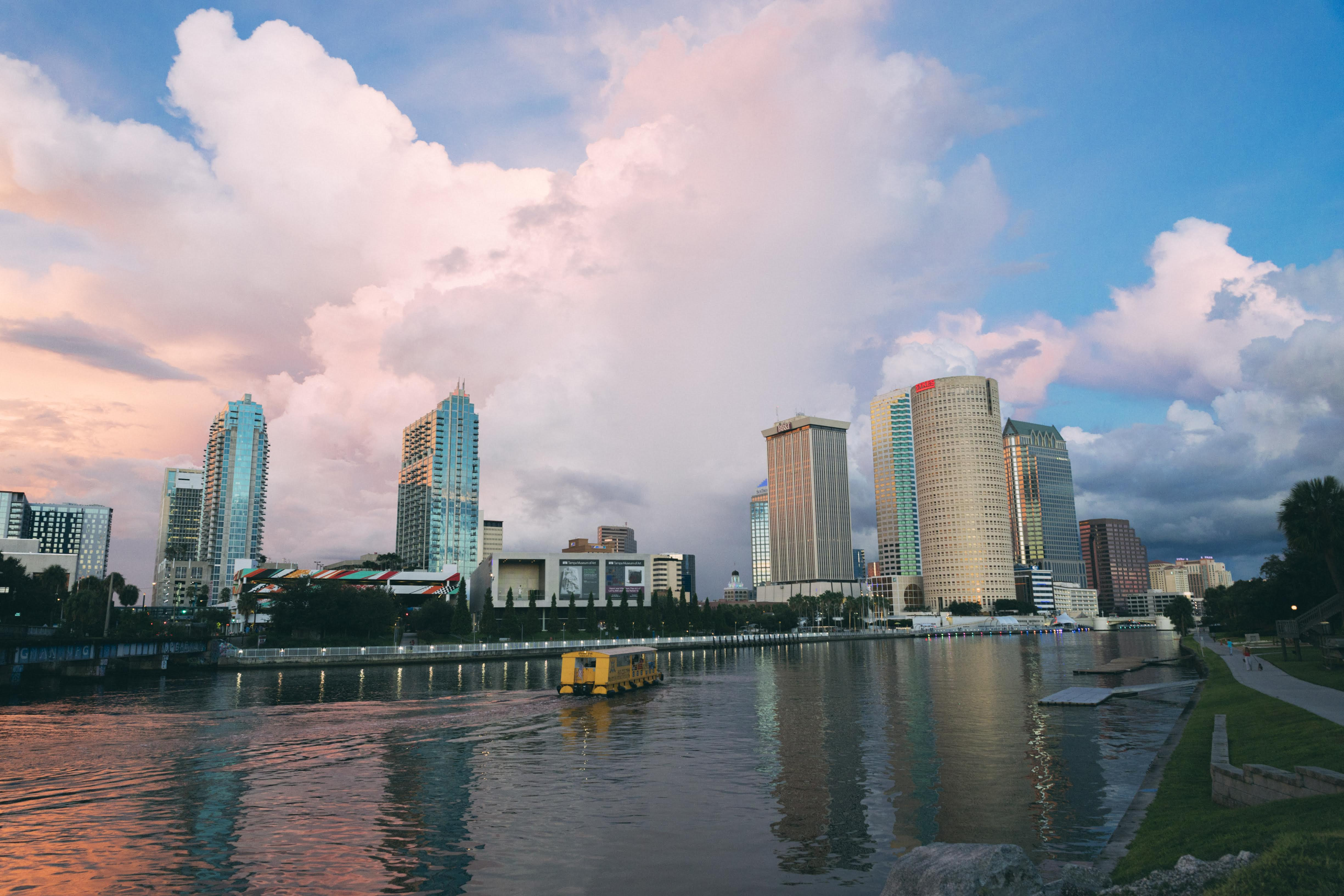Featured Tampa Skyline