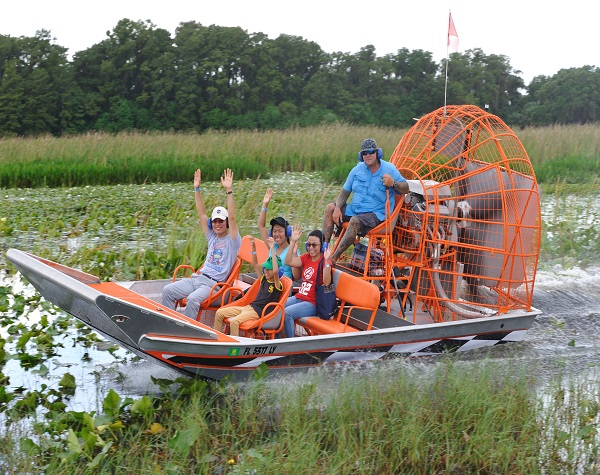 Boggy Creek Orlando One Hour Scenic Nature Airboat Ride
