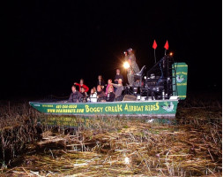 Boggy Creek Orlando One Hour Airboat Night Tour