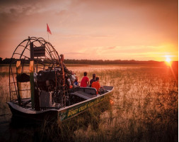 Boggy Creek Orlando One Hour Airboat Sunset Tour