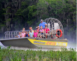 Wild Florida 1 Hour Everglades Tour & Wildlife Park Admission with Transportation