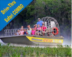 Wild Florida 30 Minute Everglades Tour + Wildlife Park & Drive-Thru Safari