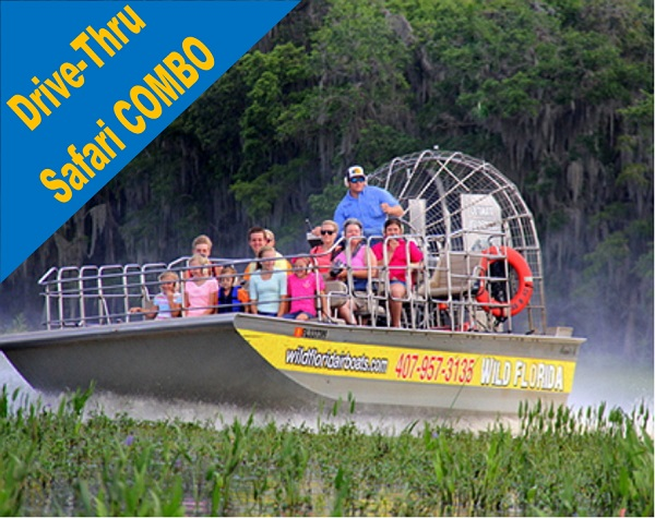 Wild Florida 1 Hour Everglades Tour + Wildlife Park & Drive-Thru Safari