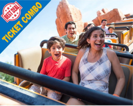 Magic & Movies Combo PLUS - Disney 7 Day Base with 7 Fun Visits/Universal 3 Day Park to Park