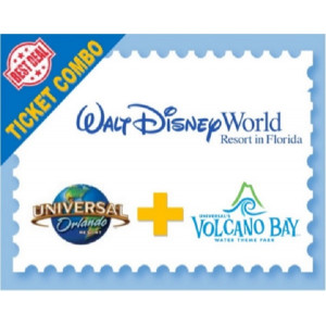 The Real Steal Combo - Disney Ultimate/Universal 3 Park Explorer
