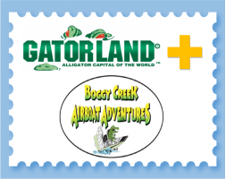 Gatorland & Boggy Creek Airboat COMBO 2019