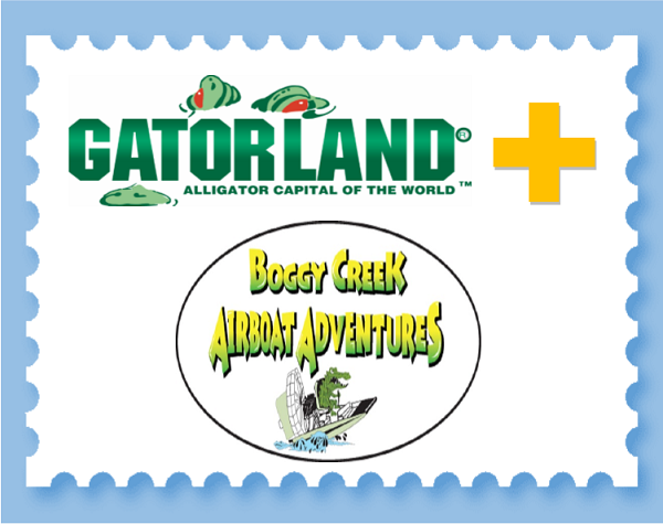 Gatorland & Boggy Creek Airboat COMBO