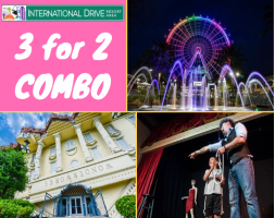 International Drive 3 for 2 Bundle - Wonderworks / Outta Control Magic Comedy Dinner Show / ICON Orlando 2019