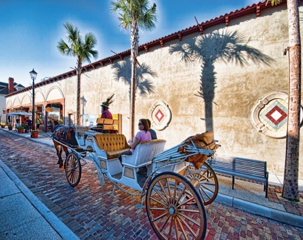 St Augustine with Historic Colonial Qtr