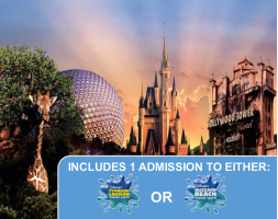 Walt Disney World 4 Park Magic Ticket with Water Park - PRICES FROM