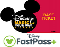 6 Day Magic Your Way Base Ticket