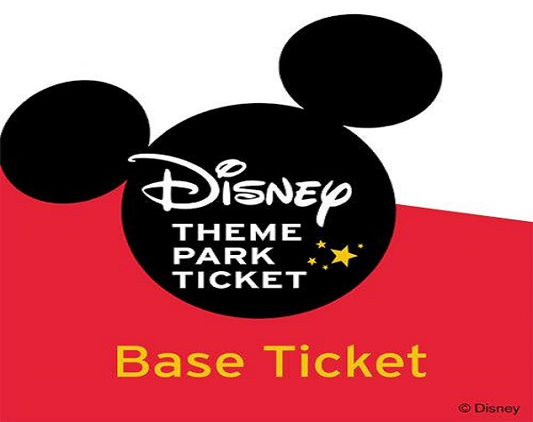 Walt Disney World 1 Day Base Ticket